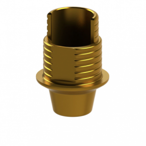 Ti-Base + Screw compatible with Astra TECH Implant System™ Aqua RP G/H 1.0 - Non-Engaging (R)