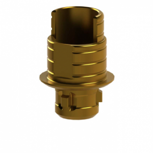 Ti-Base + Screw compatible with Camlog® Screw-Line® 3.8 - Engaging (20°)