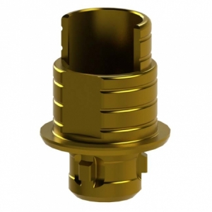 Ti-Base + Screw compatible with Camlog® Screw-Line® 4.3 - Engaging (20°)