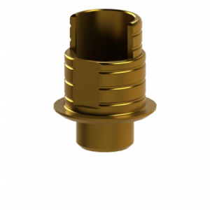 Ti-Base + Screw compatible with Camlog® Screw-Line® 3.8 - Non-Engaging (20°)