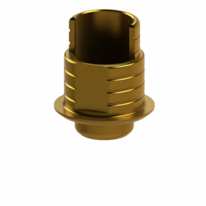 Ti-Base + Screw compatible with Biomet 3i® Certain® 4.1 G/H 0.3 - Non-Engaging (R)