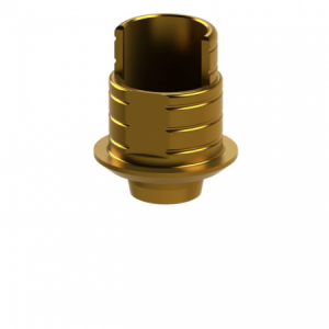 Ti-Base + Screw compatible with Nobel Replace Select® NP G/H 0.5 - Non-Engaging (R)