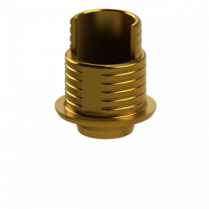 Ti-Base + Screw compatible with Nobel Replace Select® RP G/H 0.3 - Non-Engaging (R)