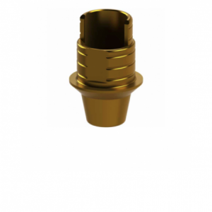 Ti-Base + Screw compatible with Osstem® TS Mini - Non-Engaging (20°)