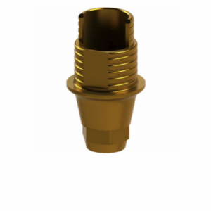 Ti-Base + Screw compatible with Osstem® TS Regular G/H 1.1 - Engaging (NR)