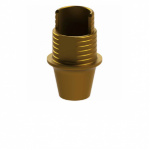 Ti-Base + Screw compatible with Osstem® TS Regular G/H 1.1 - Non-Engaging (R)