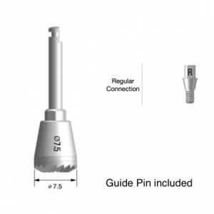 Bone Profiler D7.5, incl. Guide Screw (Regular)