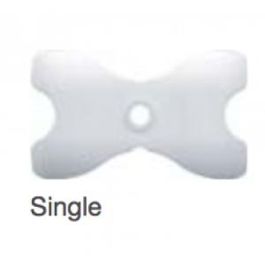 Thermoplastische Bohrschablone - Typ Single