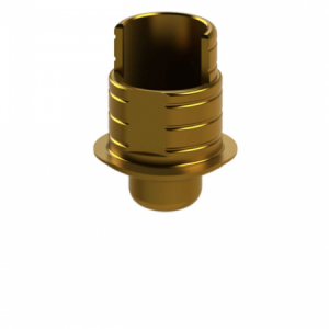 Ti-Base + Screw compatible with Biomet 3i® Certain® 3.4 G/H 1.2 - Non-Engaging (R)