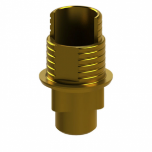 Ti-Base + Screw compatible with Nobel Replace Select® RP G/H 1.2 - Engaging (NR)
