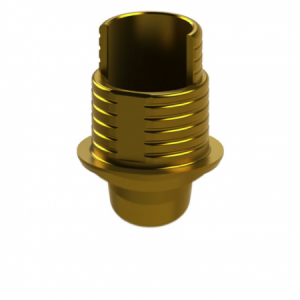Ti-Base + Screw compatible with Nobel Replace Select® RP G/H 1.2 - Non-Engaging (R)