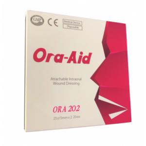 Ora-Aid 202 Intraoral-Pflaster, 20 Streifen mit je 2 Stück 25 mm X 15 mm