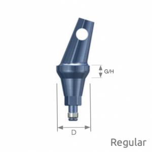 Abgewinkeltes Abutment Selector Regular A Type D6 x G/H2.0