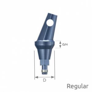 Abgewinkeltes Abutment Selector Regular B Type D6 x G/H2.0