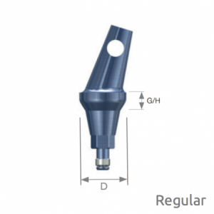 Abgewinkeltes Abutment Selector Regular A Type D6 x G/H4.0