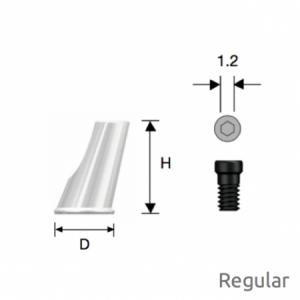 Convertible  Abgewinkelter Zylinder Regular D5 x H8 Octa