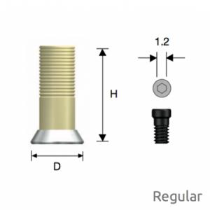 Convertible GoldCast Zylinder Regular D6.0 Octa