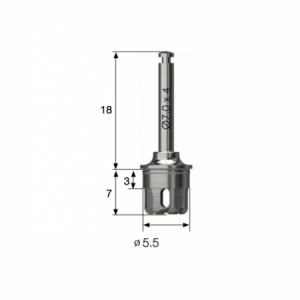 Kern Bohrer - Core Drill 5.5 - LAS