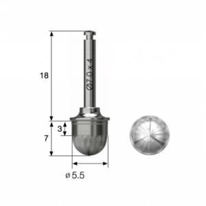 Kuppel Bohrer - Dome Drill 5.5 - LAS