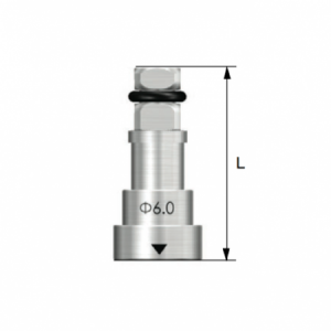 Rigid Outer Driver D6.0 Short Regular L=16.5