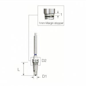 SET Bohrer - Drill D1.6/2.8 L 10.0 - ESSET KIT