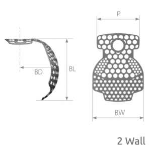 SmartBuilder 2 Wall Titanium Membrane P=7 x BW=9 x BL=9