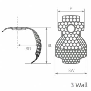 SmartBuilder 3 Wall Titanium Membrane P=12 x BW=12 x BL=7
