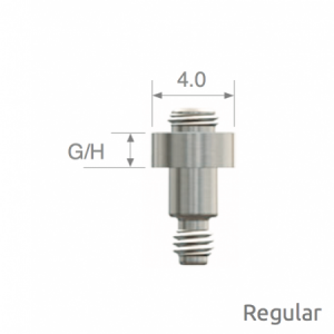 Verbindungsabutment - SmartBuilder™ Height für TS Regular D4.0 x G/H0.5