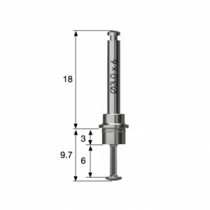 Side Wall Bohrer - Side Wall Drill D3.0 x 6.0 - LAS