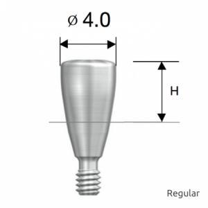 Gingivaformer - Healing Abutment D4.0 x H5.0 Regular