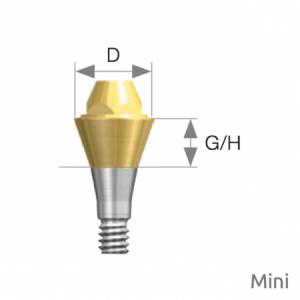 Multi Abutment Mini D4.8 x G/H1.0