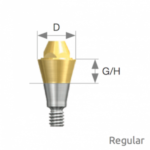 Multi Abutment Regular D4.8 x G/H1.0