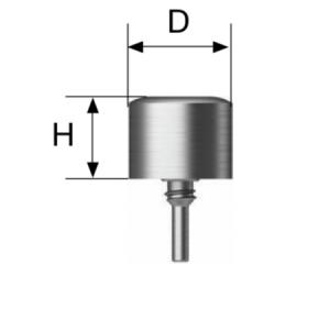 Healing Cap - TS for SmartBuilder D=4.0 x H=4.0